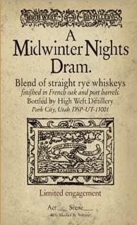 a midwinter nights dram