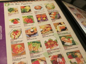kyoto japanese restaurant colorful menu