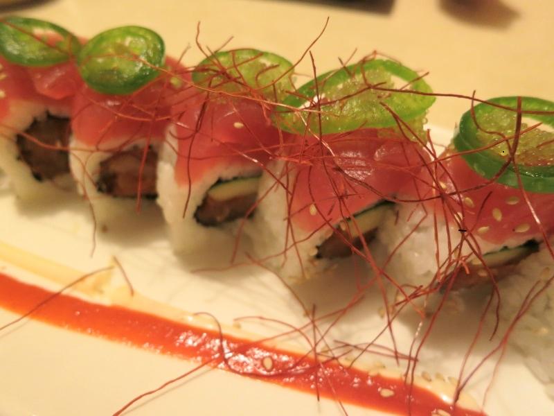 kyoto japanese restaurant hot samurai roll
