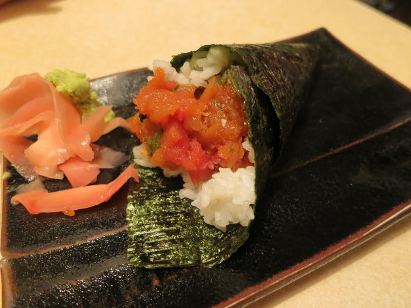 kyoto japanese restaurant spicy tuna handroll