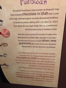 Chocolate in Utah
