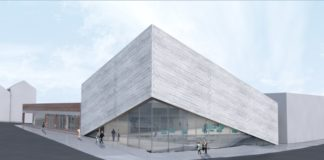 kimball art center redesign exterior