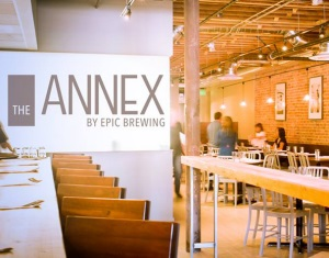 the annex by epic logo and interior