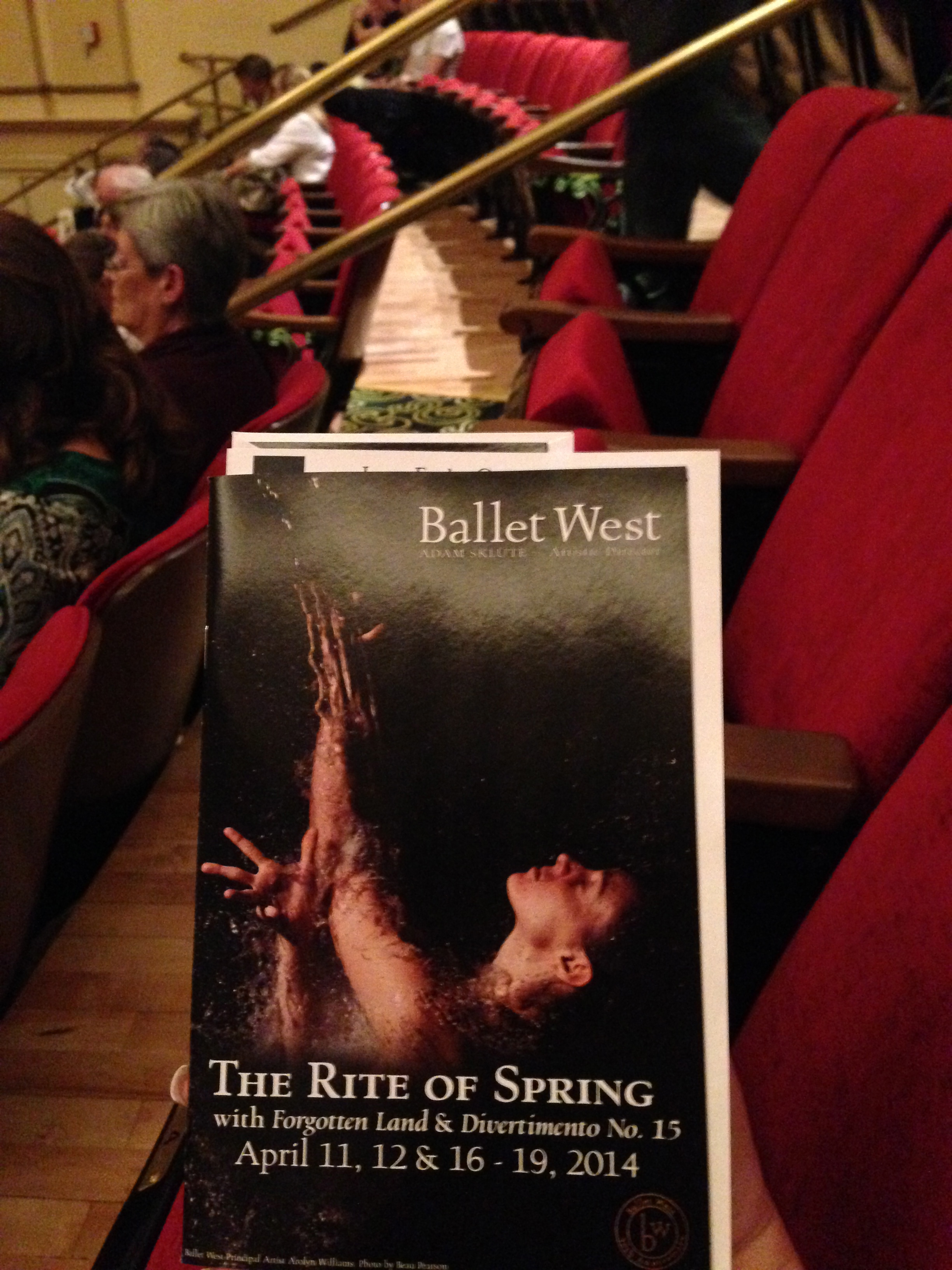 Beckanne Sisk and Chase OConnell | Ballet performances