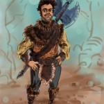 Concept Art: Leon, 'LARP: The Movie.'