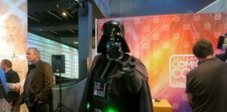 dan farr and darth vader comic con 2014