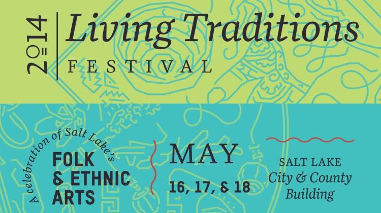 living traditions festival banner
