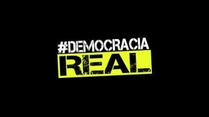 #Democracia Real by Chedey Reyes.