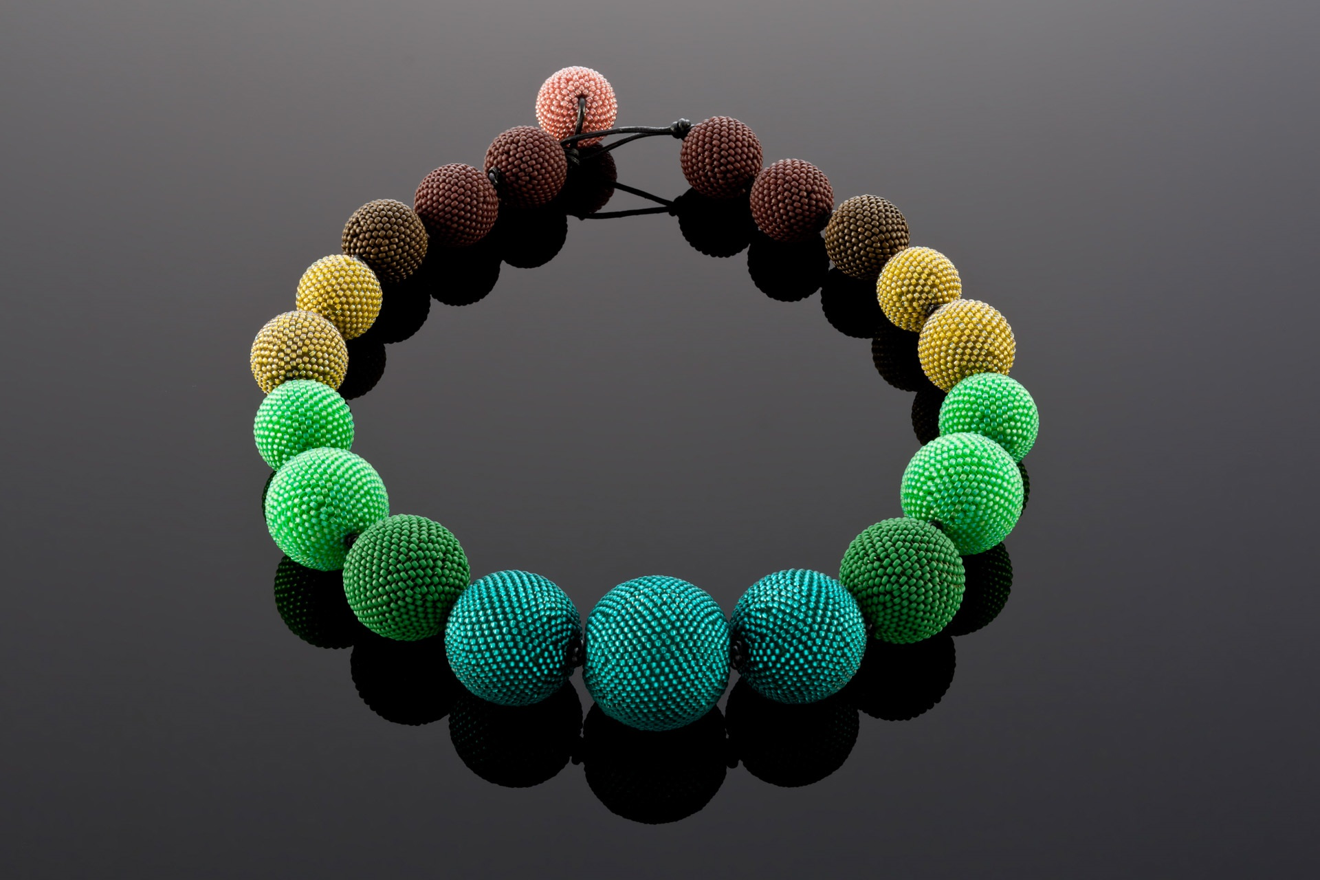 Lisa Gastelum Necklace Knotted - Atomic