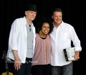 2013 Millsaps Showcase Winners (from left)  3rd Place- Roy Matthews; 2nd Place, Bri Ray; 1st Place, Rob Harmon.