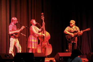 Three Penny Acre performing at an IAMA Concert.