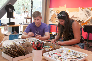 Workshops will be held in The Leonardo's Lab @Leo throughout the Utah Arts Festival. Photo by Nicole Morgenthau.