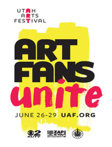 The Utah Arts Festival begins June 26 in downtown Salt Lake City on Library Square and Washington Square.