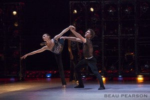 Christopher Ruud with Jacqueline Straughan, Ballet West.