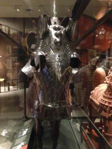 German medieval horse armor