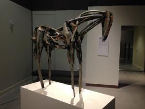 horse sculpture by artist Deborah Butterfield