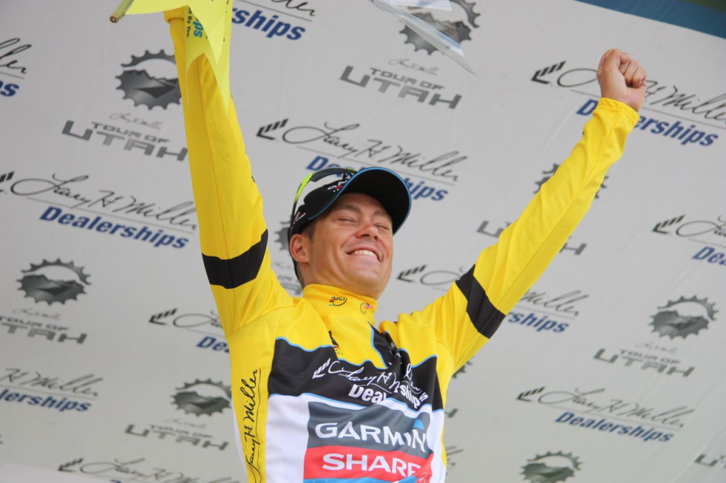 Tom Danielson wins the Tour of Utah for the second year in a row.