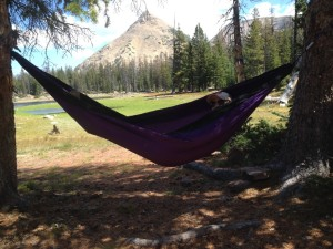 hammock in the Uintas