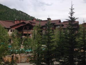 The village at Solitude Mountain Resort