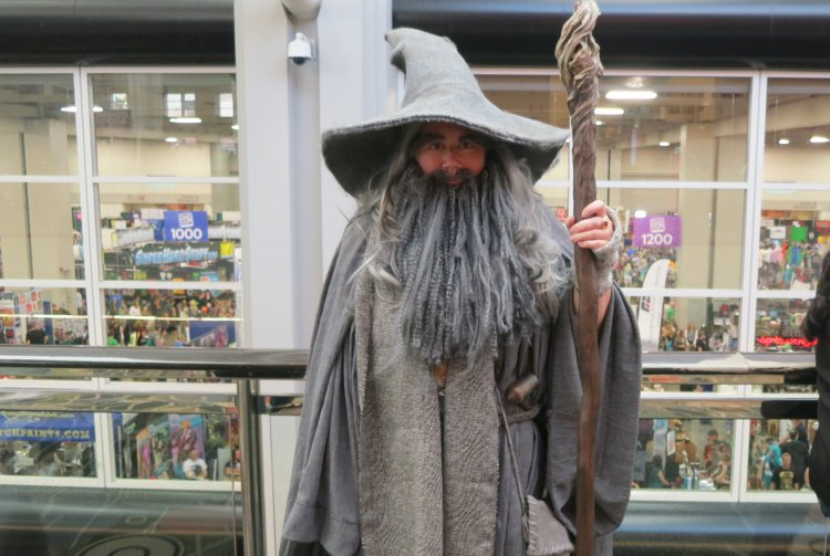 gandalf at comic con