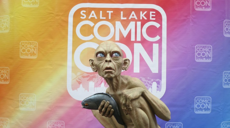 gollum weta statue at salt lake comic con 2014