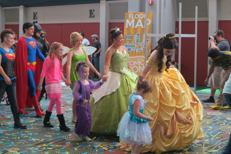 princesses at comic con