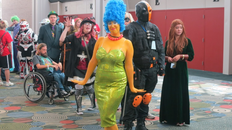 salt lake comic con 2014 marge simpson