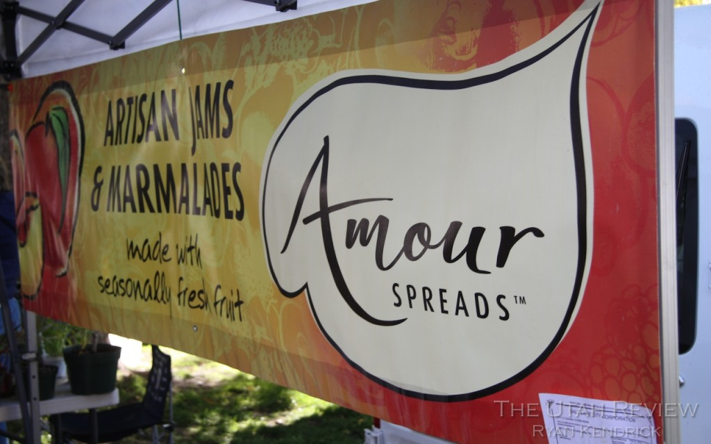 Amour Spreads at Salt Lake Farmers Market