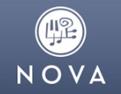 NOVA logo (blue)