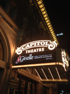 Giselle at Capitol Theatre