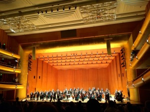 The Utah Symphony takes a bow at Abravanel Hall.