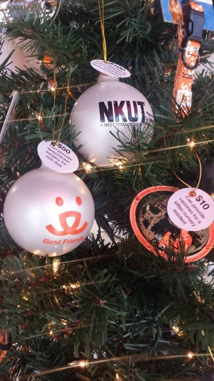 Best Friends Pet Adoption Center Tree ornaments