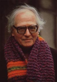 Olivier Messiaen, composer of the 'Harawi' song set.