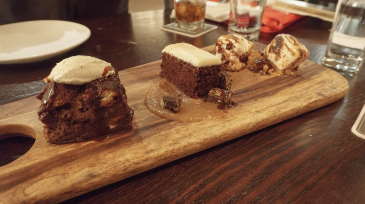 annex by epic dessert sampler