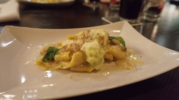 annex by epic house made pasta with crab