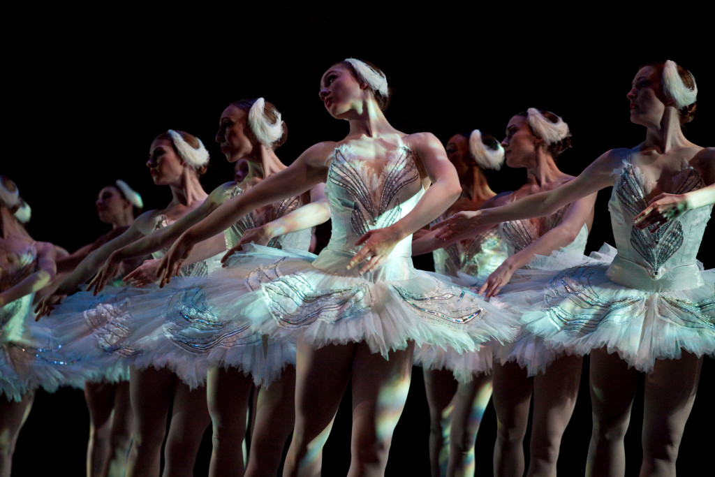 Ballet West's Swan Lake: photo courtesy of Luke Isley