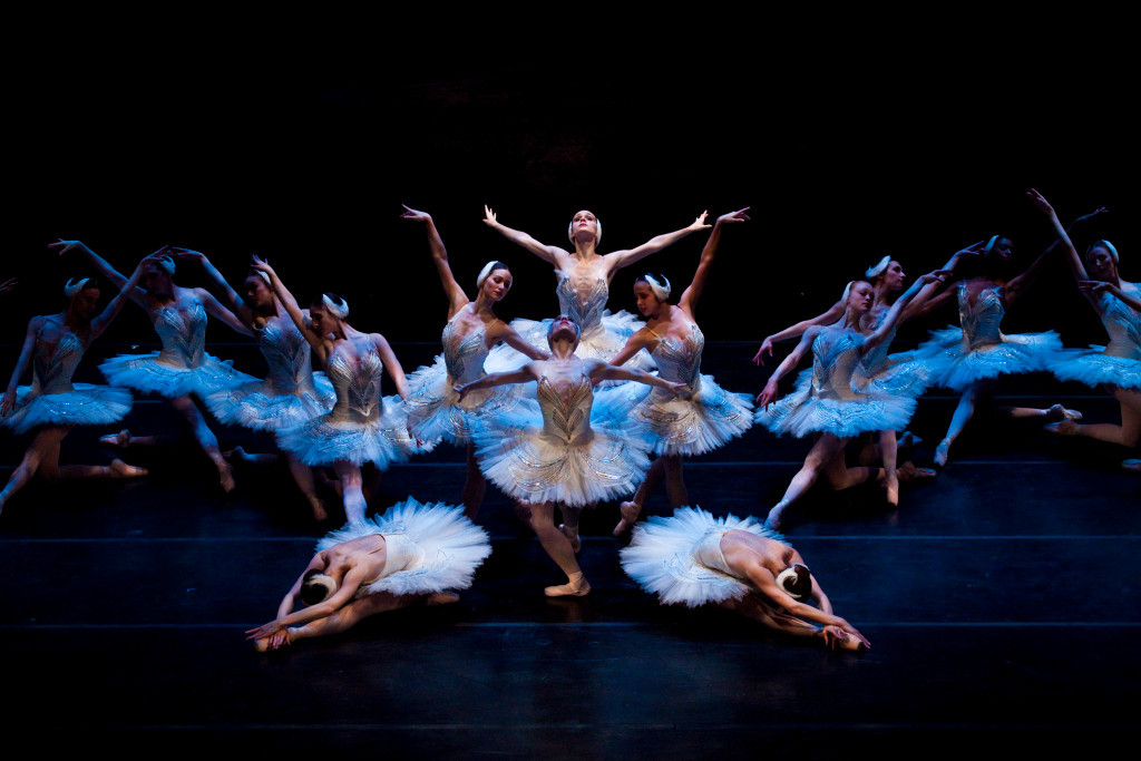Ballet West's Swan Lake: photo courtesy of Luke Isley