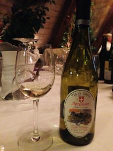 Pierre Boniface Apremont Les Rocailles Vin de Savoie 2013
