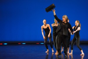 Sister Dottie, the hugely popular character portrayed by actor Charles Lynn Frost, returns for the second consecutive year as host of Repertory Dance Theatre's Charette. (Photo by Sharon Kain)
