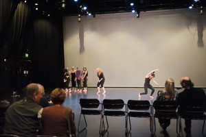 Charette rehearsal in progress from 2014. (Photo by Sharon Kain)