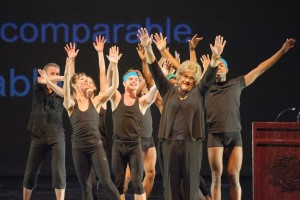 Sister Dottie and dancers at 2014 Charette. (Photo by Sharon Kain)