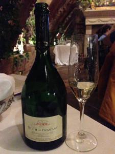 G. H. Mumm Blanc de Blancs de Cramant Grand Cru Brut Champagne