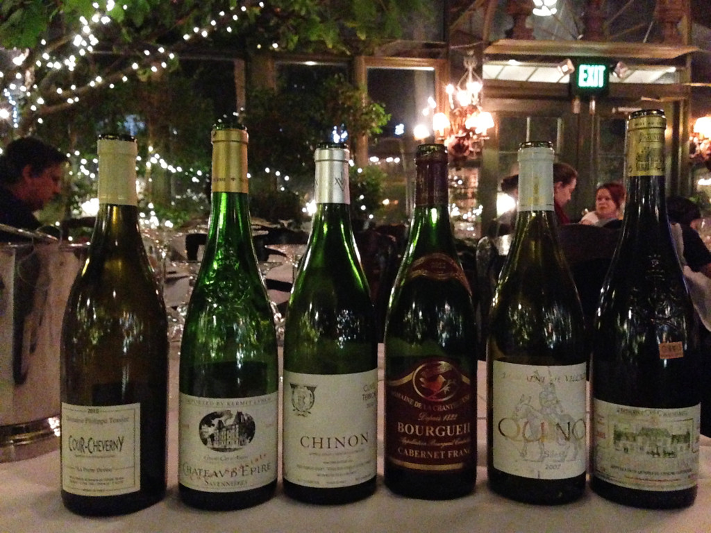 The wines of the Loire Valley.
