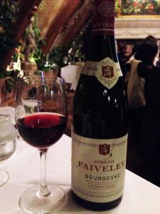 Joseph Faiveley Bourgogne Pinot Noir 2010