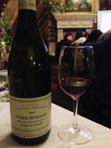 Vincent Girardin Vosne-Romanee Vieilles Vignes 2004