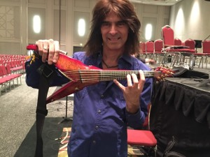 Mark Wood with Viper Violin.