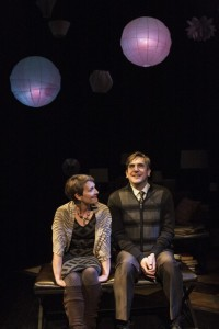Susanna Florence Risser and Mark Fossen, 'Pilot Program,' Plan-B Theatre, Photo by Rick Pollock.
