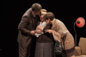 April and Mark Fossen and Susanna Florence Risser, 'Pilot Program,' Plan-B Theatre, Photo by Rick Pollock.