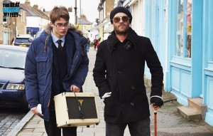 Scene from 'The Beat Beneath My Feet,' with Nicholas Galitzine and Luke Perry.