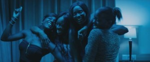 "Scene from the dynamic French coming-of-age film ""Girlhood,' directed by Céline Sciamma."